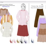 Tznius by Design Dress-up Game
