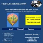 The Online Limudei Kodesh Resource Room