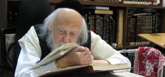 "Rabbi Yosef Shalom Elyashiv, zt""l, Posek HaDor, a homeschool prodigy"